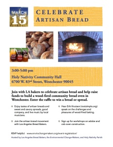 March 15 Bread Event