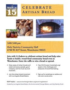 March 15 Bread Event